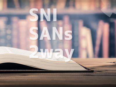 SSL証明書の便利機能をご紹介(SNI、SANs、2way)